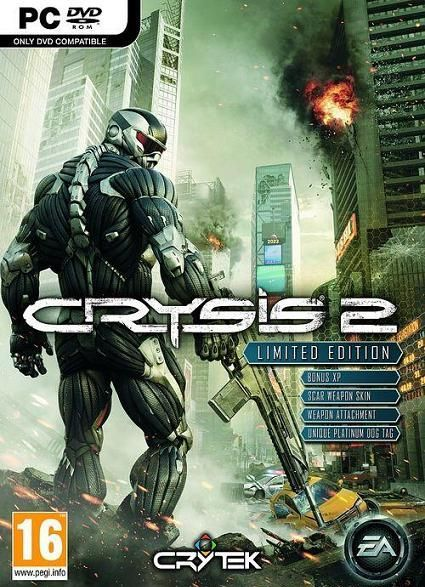 Скрипн Crysis 2 Limited Edition