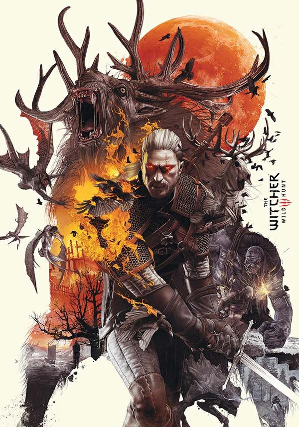 Скрипн Ведьмак: Трилогия / The Witcher: Trilogy (1,2,3 части)
