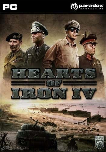 Скрипн Hearts of Iron IV [v.1.2.1] (2016) [RUS]
