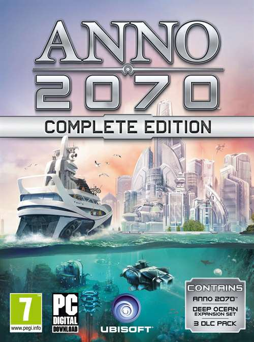 Скрипн Anno 2070: Complete Edition (2011) [RUS]
