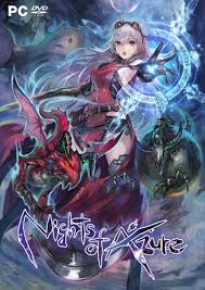 Nights of Azure (2017|Англ)