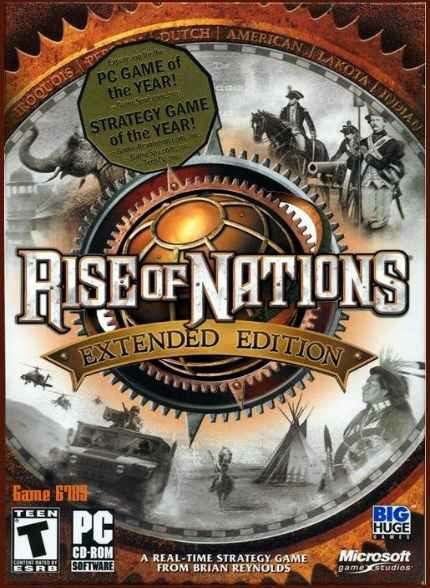 Скрипн Rise of Nations: Extended Edition (2014) [RUS]