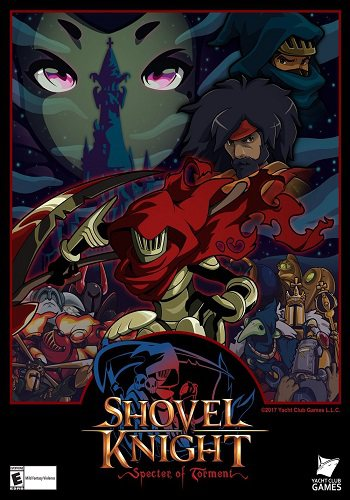 Скрипн Shovel Knight: Specter of Torment [v3.0A] (2017) [RUS]