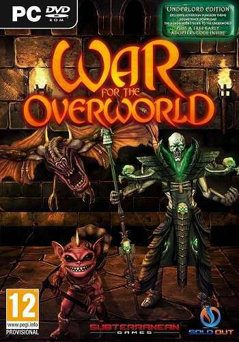 Скрипн War for the Overworld: Gold Edition [v 1.6f11 + DLCs] (2015) [RUS]